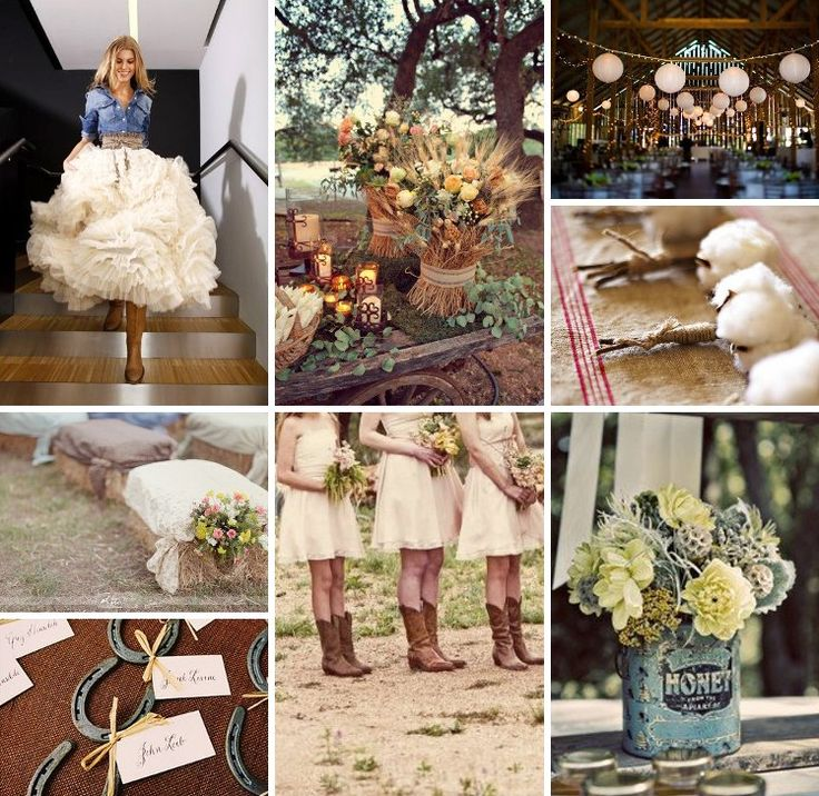 country: Someday, Stuff, Dreams, Wedding Ideas, Future, Country Weddings, Wedding Inspiration Boards, Hay Bale, The Dresses