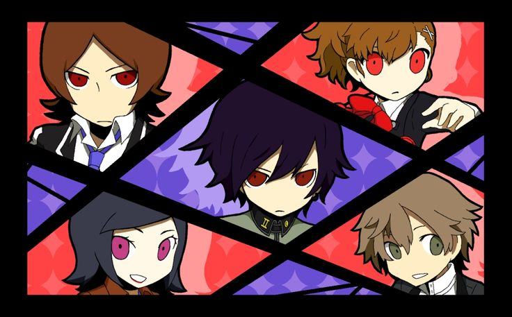 They should do a persona q situation with ALLLLLLLLLLLLLL the characters!