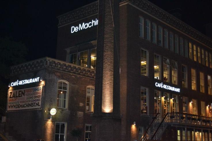 Restaurant The Machinist, Rotterdam - The Netherlands