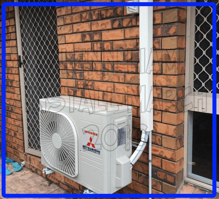 Air conditioning installation in Brisbane, Australia by the experts. This is a Mitsubishi Heavy Industry Split system air conditioner