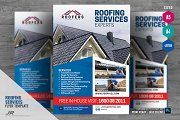 Roofing Contractor Flyer by psdpixel #roofing #roofingideas #roofingexperts #roo…