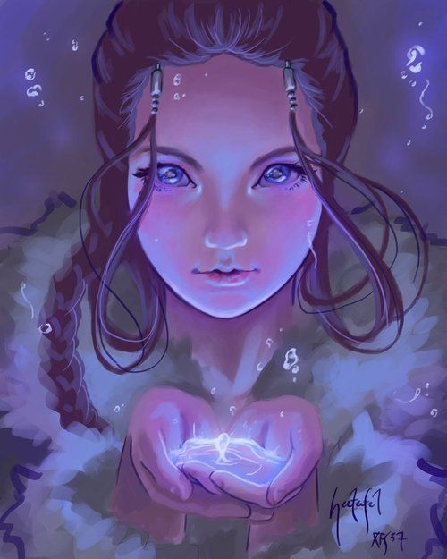 Katara - Avatar: The Last Airbender Fan Art (32475866) - Fanpop fanclubs on We Heart It. http://weheartit.com/entry/40692551/via/Loraninja