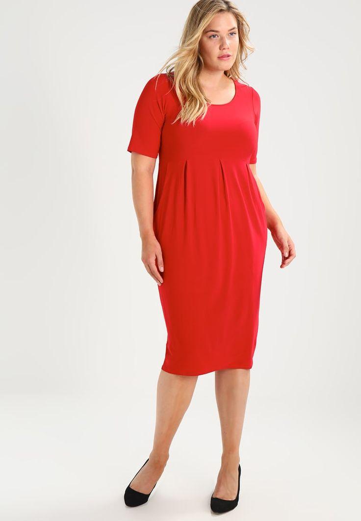 Evans POCKET DRESS - Vestito di maglina - red - Zalando.it