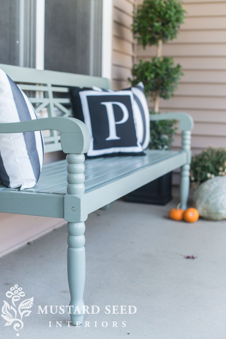 Seasons of Home | Fall Porch - Miss Mustard Seed