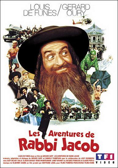 """Louis de Funès (1914-1983) - Louis de Funès est un acteur français né le 31 juillet 1914 à Courbevoie et mort le 27 janvier 1983 à Nantes - Source : Wikipédia - """"Rabbi Jacob"""" est l'un de mes films préférés de Louis de Funès. Hilarant!"""