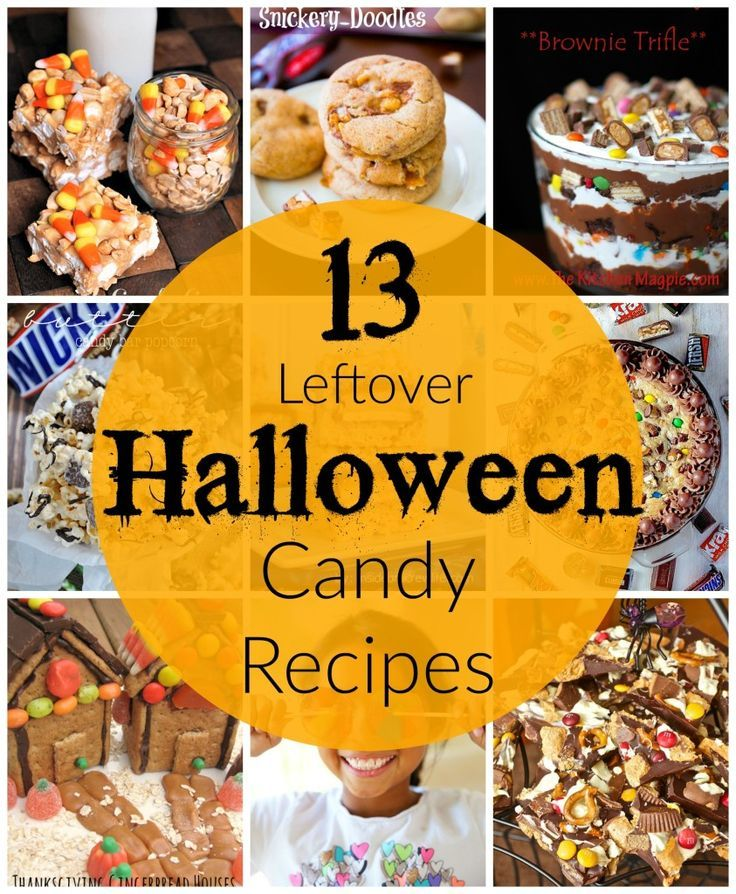 13 leftover halloween candy recipes - Easy Halloween Candy Recipes