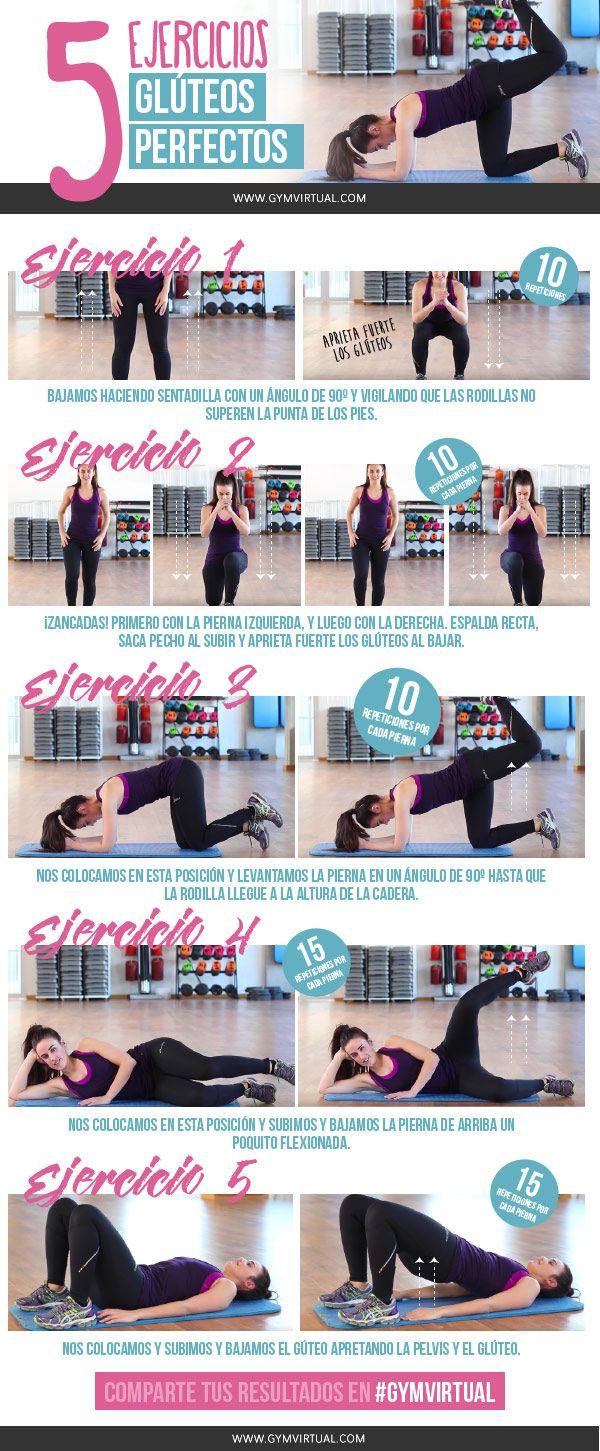 Hoy os traigo 5 ejercicios de tonificación para tener unos glúteos perfectos. Estos ejercicios los podéis combinar entre sí o bien realizar solo uno pero en 3 series de 10-15 repeticiones y con unos 10 o 15″ de descanso entre serie y serie. Son los mejores ejercicios de glúteos, así que os animo a que …