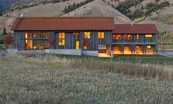 Sun Valley Mountain Modern By Signum Architecture Rusted