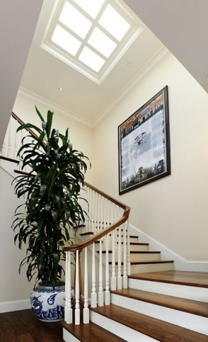 Skylights allow natural lighting into the home, helping you save money on electrical bills.