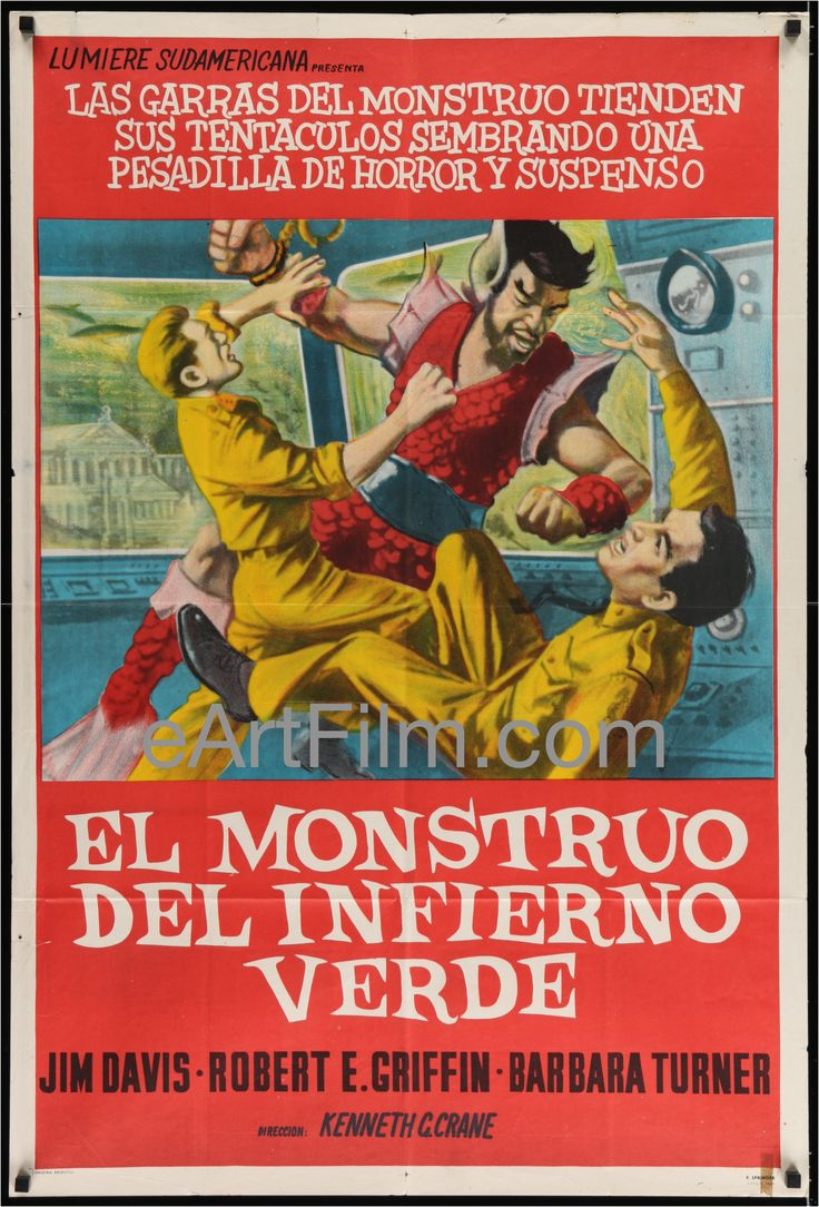 Now available in our store: Monster From Gree... See for yourself! http://eartfilm.com/products/monster-from-green-hell-jim-davis-barbara-turner-1957-sci-fi-wasp-horror-thriller?utm_campaign=social_autopilot&utm_source=pin&utm_medium=pin