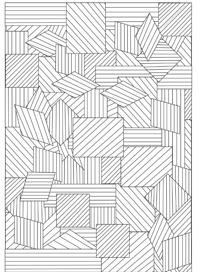 Geometric Art Coloring Book : 66 best art geometric isometric designs images on pinterest