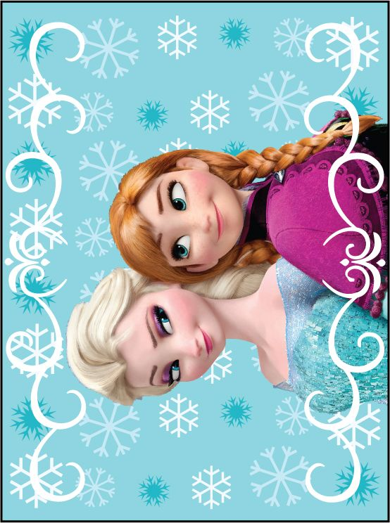 Free Frozen Wall Printable.