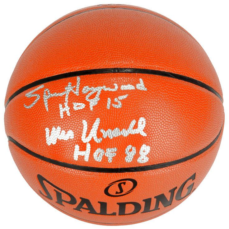 Wes Unseld, Spencer Haywood Washington Bullets Fanatics Authentic Autographed Indoor/Outdoor Basketball with HOF 15 and HOF 88 Inscriptions - $119.99