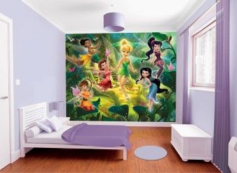 3D tapeta Disney Víly