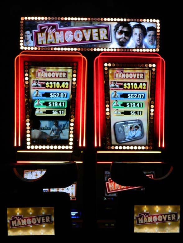 The Hangover Slot Machine at the Tropicana in Laughlin, NV