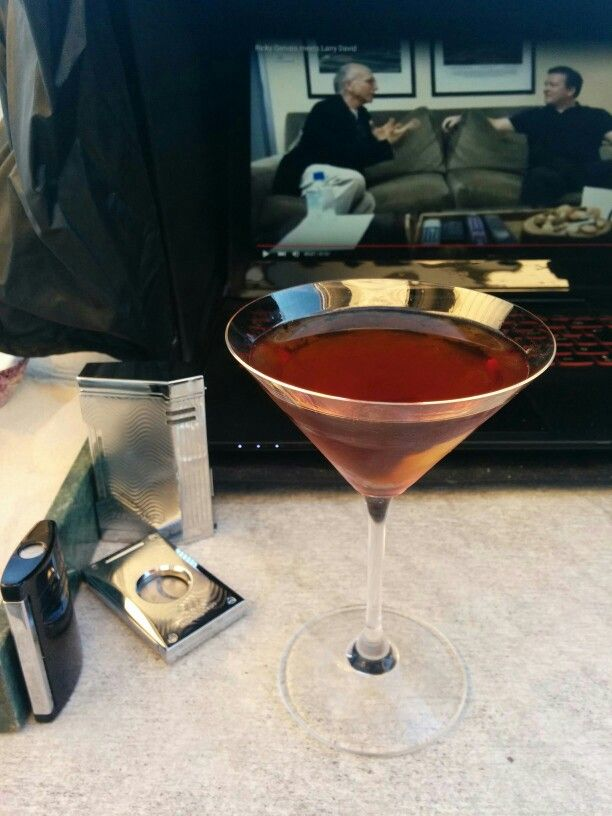 Zacapa XO Manhattan.