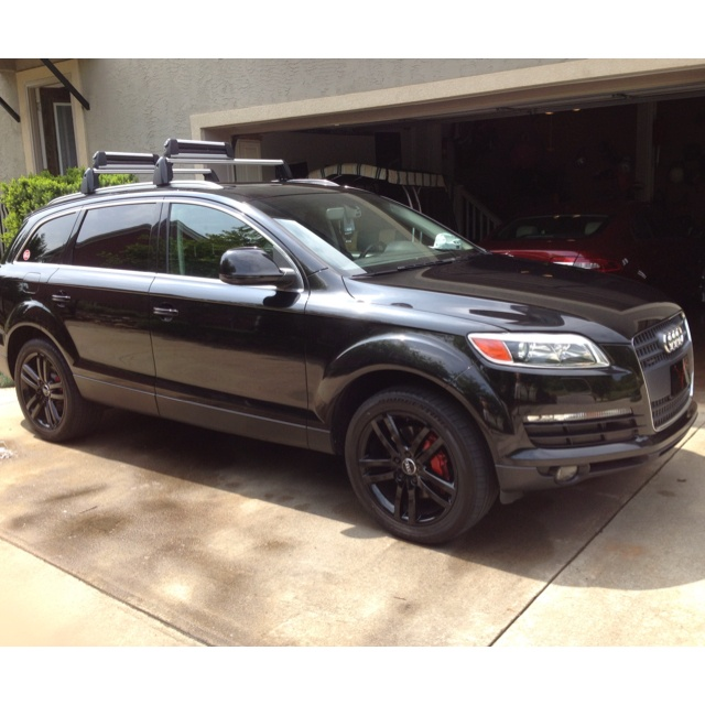 2007 audi q7 v6 fuel injected engine black custom audi rims with porsche braking system. Black Bedroom Furniture Sets. Home Design Ideas
