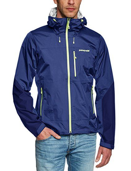 Patagonia Herren Jacke Torrentshell Stretch, Channel Blue