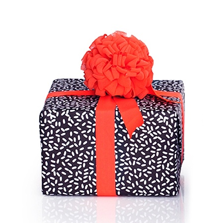 Harvest Gift Wrap (Rice Rice)-->  Darling Clementine