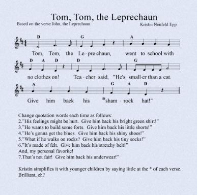 Tom, Tom, the Leprechaun