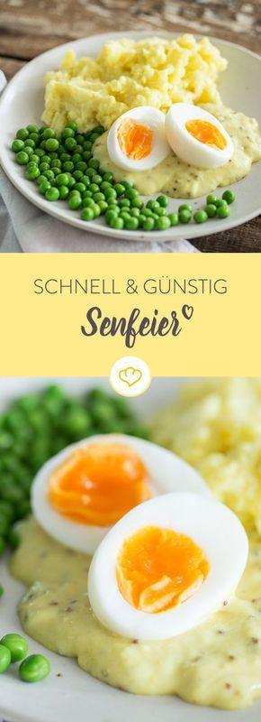 Schnell und günstig: Senfeier sind ein Klassiker der deutschen Küche, der eigentlich jedem schmeckt. Perfekt für deinen Gaumen und deinen Geldbeutel.
