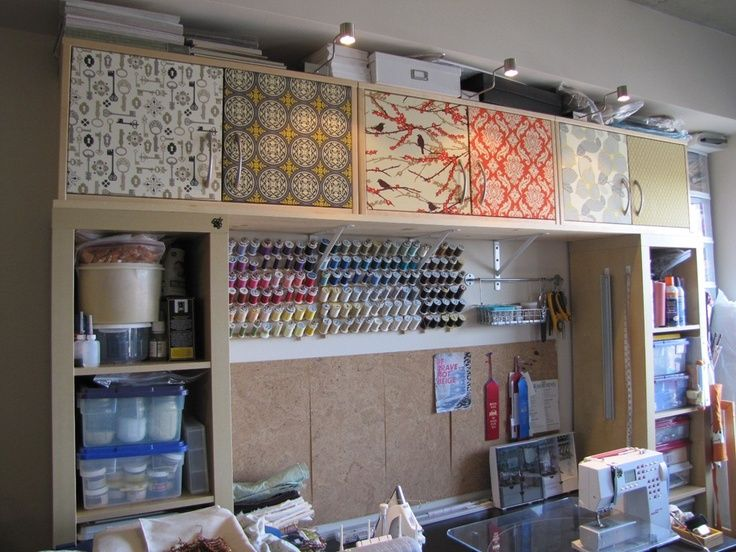 1000 images about sewing rooms on Pinterest