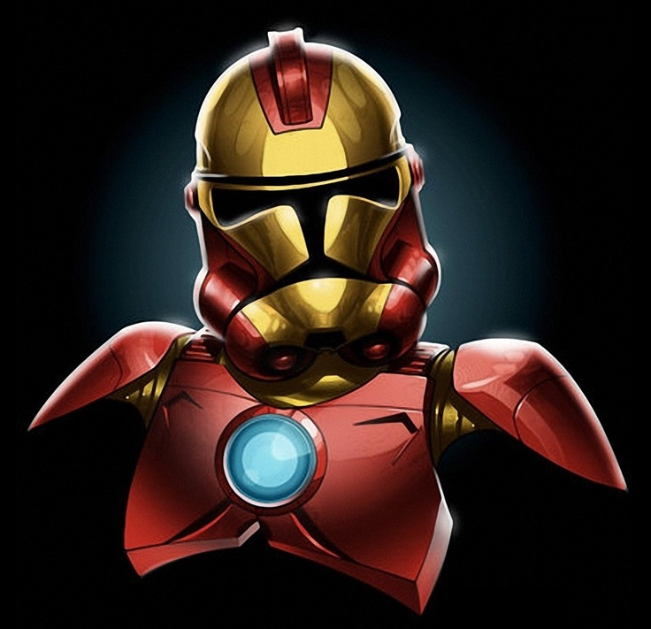 Ironman stormtrooper   Star Wars   Pinterest