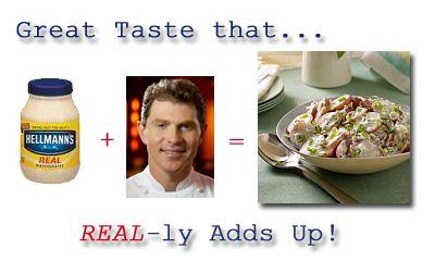 Bobby Flay Potato Salad Recipe with Hellmans