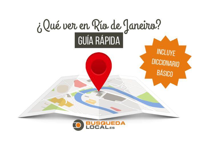Qué visitar, gastronomía y cultura carioca. Aquí tienes una guía rápida con todo lo que debes saber sobre la ciudad de Río de Janeiro