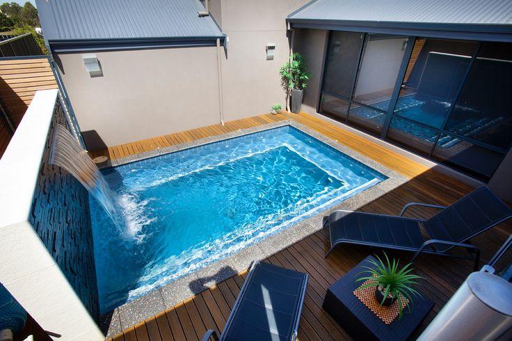 love the idea of a small pool.