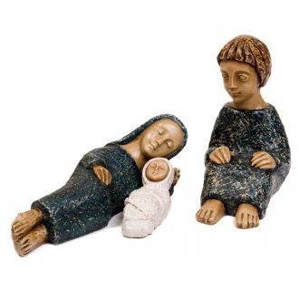Natividad pequeña azul | venta online en HOLYART