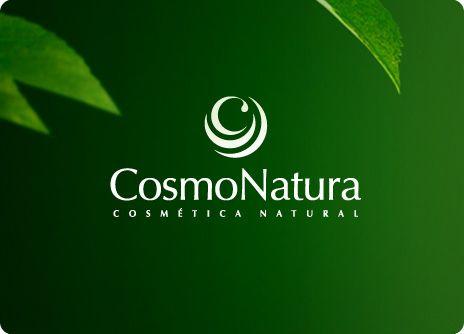 """COSMONATURA: Diseño de logo para firma de cosméticos de origen natural. el isotipo se basa en la """"C"""" inicial pero tratada de una forma muy interesante: La """"C"""" surge del interior de una serie de capas que la rodean y que recuerdan una flor o una planta. La """"C"""" finaliza en su extremo en una gota que representa la esencia natural que surge de la planta, y que además se integra muy bien en la letra porque parece una serifa de una """"C"""" clásica."""
