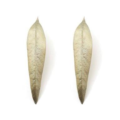 Eucalyptus Earrings by Michael Michaud