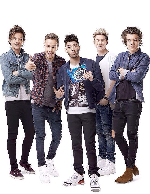 One Direction and Oreos... My two favorite things in life.