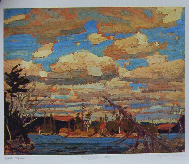 Ragged Lake  Tom Thomson