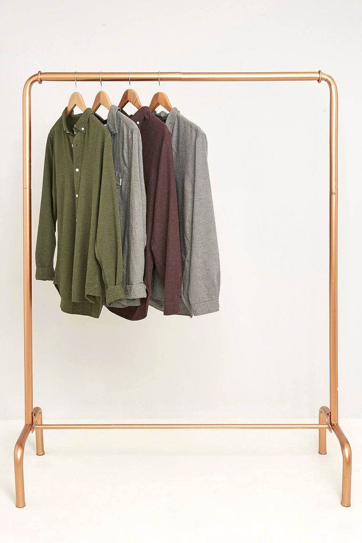 best clothes rail images on pinterest copper tubing pipes and