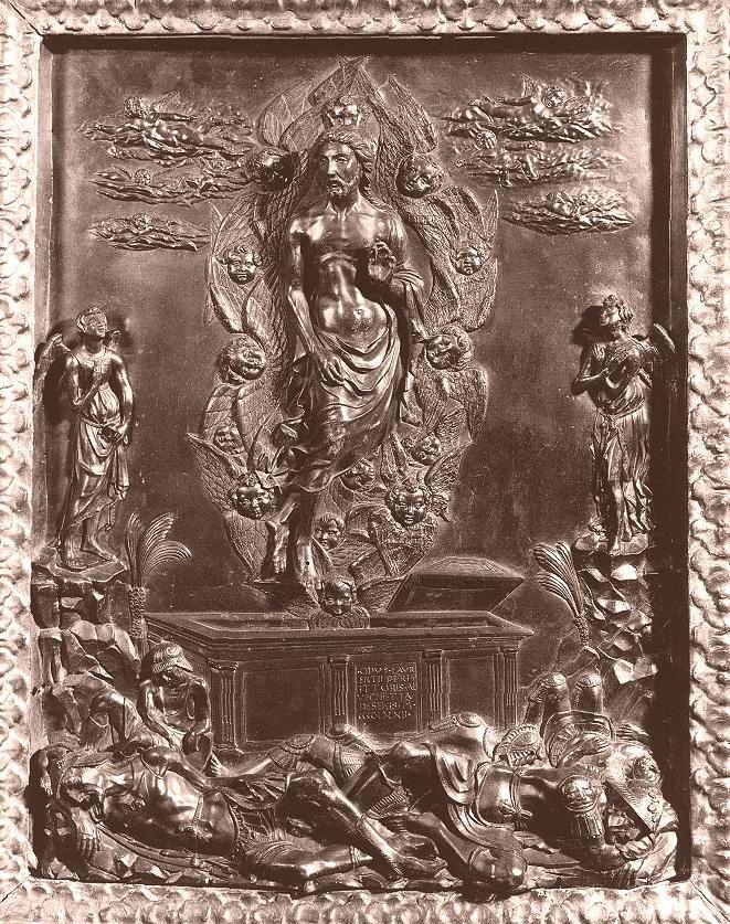 Веккьетта. Воскрешение. 1472. Bronze. Коллекция Фрика, Нью-Йорк.