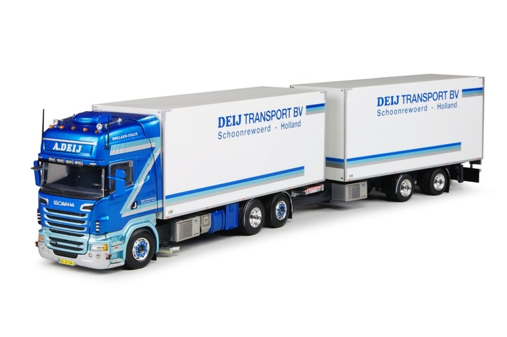 Deij Transport   Tekno schaalmodellen vrachtwagens