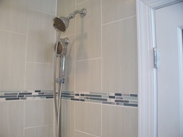 Small Master Bath 6x8 Tub Shower Combo With Vanity And