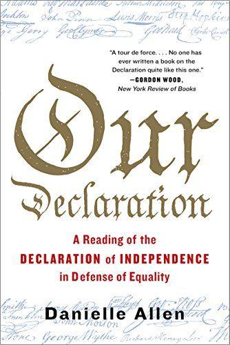 """Danielle Allen: """"Our Declaration"""" - The Diane Rehm Show"""