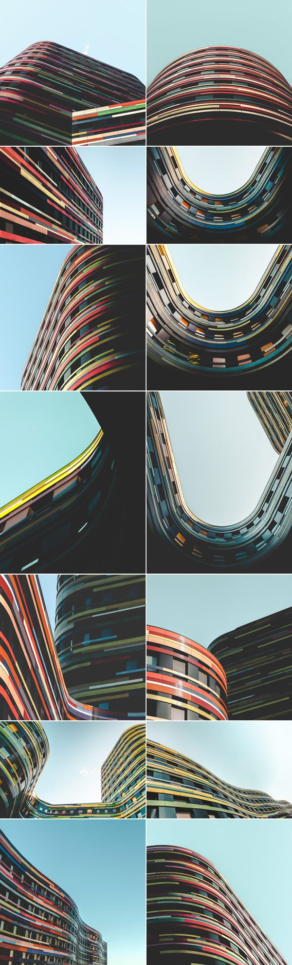 The German photographer Lars Focke has taken several close-ups in the different points of view to document this unique architecture.