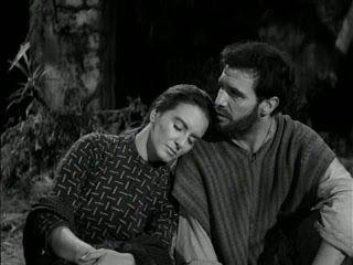 """Primordiales: """"Nazarín"""" (1959) - Dir. Luis Buñuel. Con Francisco Rabal, Marga López, Rita Macedo, Ignacio López Tarso."""