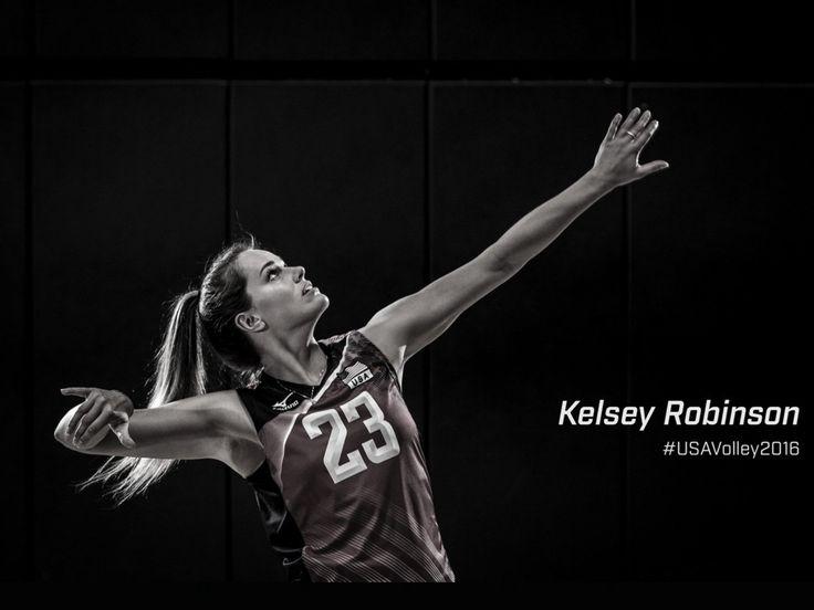 Former Nebraska Volleyball player, Kelsey Robinson.