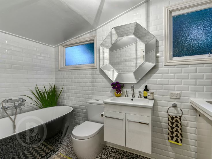 57 Plunkett Street, Paddington // Mario Sultana #bathroom #bathroominspiration #homeinspiration #neutral #tiles #sink #home #homedecor #brisbane #queensland #realestate #inspiration #homedecorate #realestate #realtor #brisbanerealestate #decorator #interiordesign #modern #crisp #light #open #space