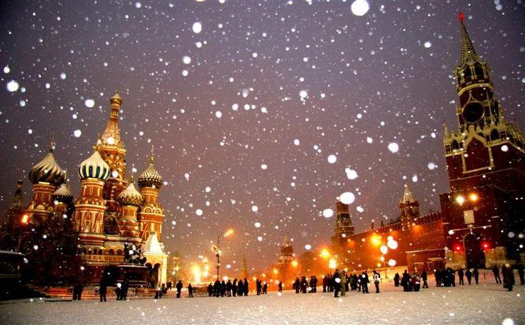 Place rouge sous la neige... Un petit Aller-Retour <3