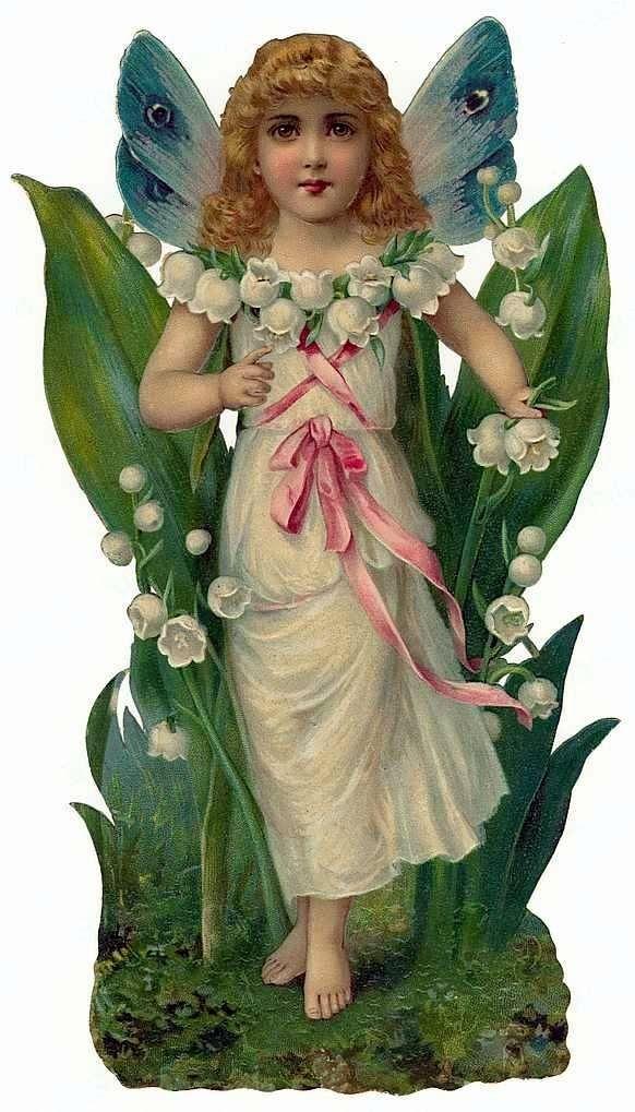 """Милые сердцу штучки: """"Викторианские цветочные феи"""""""