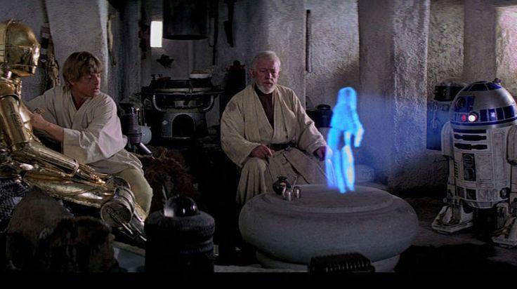 """""""Help me Obi-Wan Kenobi, you're my only hope"""" {C-3PO, Luke Skywalker, Obi-Wan Kenobi, & R2-D2}"""