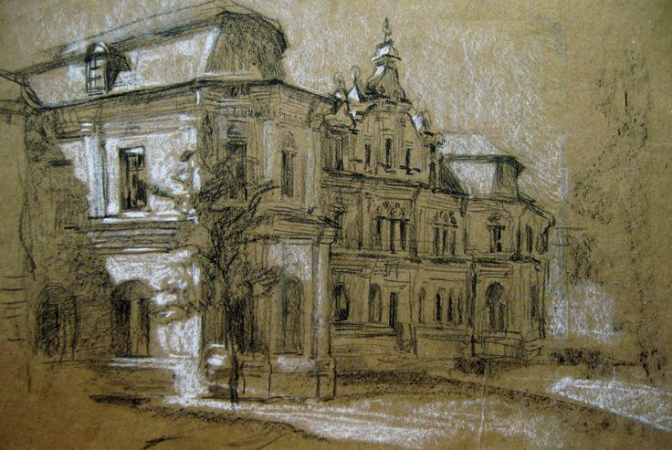 sketches by Zorina Getman (charcoal, pastel)
