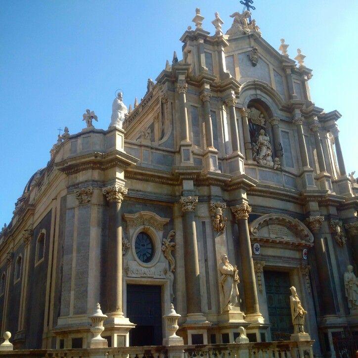 Cattedrale di Sant'Agata in Catania, Sicilia