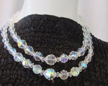 1950s austrian crystal necklace - Google Search